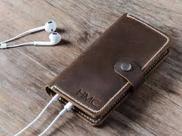 handmade leather iphone 6 case with strap personalized case