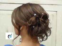Curly Hair Style Up 25 curly hair put up ideas soft curled updo for long hair prom or 5243 by wearticles.com