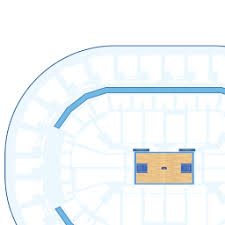 Chesapeake Seating Chart Thunder Chesapeake Energy Arena