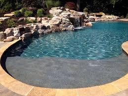 concrete inground pools
