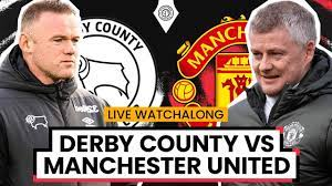 Derby County 1-2 Manchester United | LIVE Stream Watchalong - YouTube