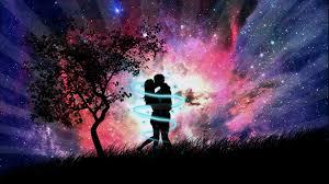 es una imagen de amor anime la subi porque me encanta el anime y.