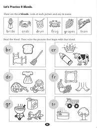 Sh Worksheets For Kindergarten Sound Math Blends Worksheet Blend ...