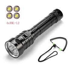 Ekaiou DX4S (yükseltilmiş DX4) 4xXM L L2 LED dalış el feneri sualtı süper  parlak su geçirmez 100m sarı/beyaz ışıklı fener|light movie|u2 lightlight i  love you - AliExpress