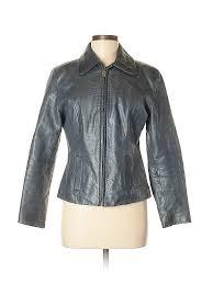 pin it guess women leather jacket size m