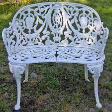garden iron bench garden iron bench
