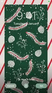 30 Christmas Aesthetic iPhone ios 14 ...