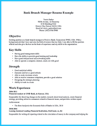 Assistant Branch Manager Resume Bank Assistant Branch Manager