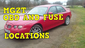 mgzt obd and fuse locations (rover 75) youtube Rover 75 Diesel mgzt obd and fuse locations (rover 75)