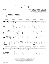 drum set sheet music set it off drum set sheet music direct