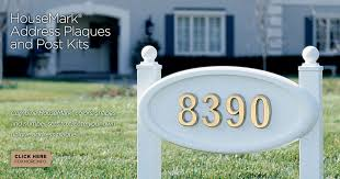 home address plaques. Gaines Manufacturing HouseMark Address Plaques And Post Kits Home L