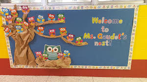 welcome to ms gaudets nest by jessica g bulletin boards