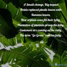 Best Bananaleaf Quotes Status Shayari Poetry Thoughts Yourquote