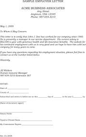 Sample Cover Letter For Employment Verification Adriangatton Com