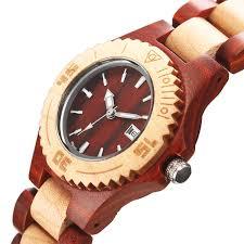 women s wooden wrist watch