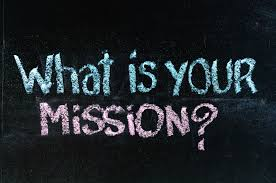 creating a personal mission statement what is your mission question chalk handwriting on blackboard