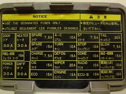 fuse kick panel 75 series troopcarrier 1hz australian 4wd action 1988 Suburban Fuse Panel 1998 at 1998 Toyota Land Cruiser Fuse Box Diagram