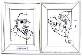 Gangsta Coloring Book 56442 Luxalobeautysorg