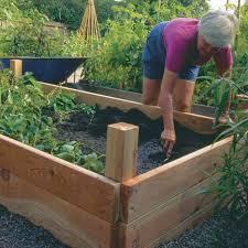 building a garden box. Building A Raised Garden Box