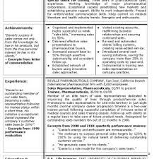 Sample Resume Area Sales Manager Pharma Company New Resume ...