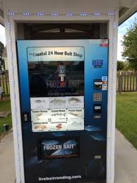 24 Hour Bait Shop Vending Machine