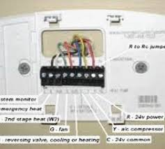 honeywell thermostat rth6350d ing rth6350 wiring rth6350d1000 manual Honeywell Rth6450 Installation at Honeywell Rth6350 Wiring Diagram