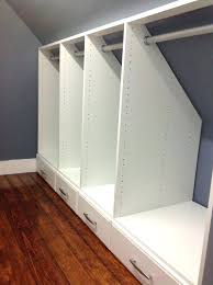 knee wall storage ideas wall closet ideas bedroom wall closet designs best slanted ceiling closet ideas knee wall