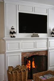 Wall Mounted Tv Frame How To Frame Your Wall Mounted Tv Its A Fancy Schmancy Life