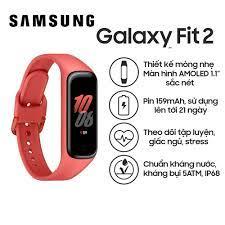 Vòng đeo tay thông minh Samsung Galaxy Fit 2 SM-R220 - Hàng Chính Hãng,  Nguyên Seal, Bảo hành 12 tháng giá cạnh tranh