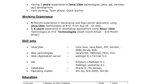 Php Developer Resume Template Java Sample Objective Examples Wond