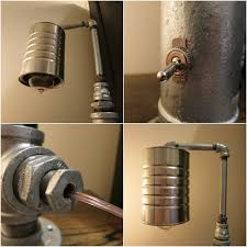 industrial chic lighting. Industrial Chic Pipe Lamp Details By RizzoAndCrane Lighting