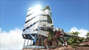 Ark Bridge Design Ark Survival Evolved Tek Base Design Tek Skyscraper Ark