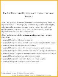 Qa Engineer Resume Sample Delectable Software Quality Assurance Resume Software Quality Assurance Resume