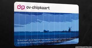 ov chip card public transport in