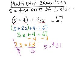 solving multi step equations math algebra showme worksheet 8th grade last thumb13177