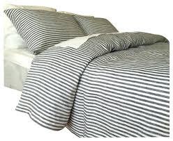 black white striped duvet cover set modern chic reversible geometric printed