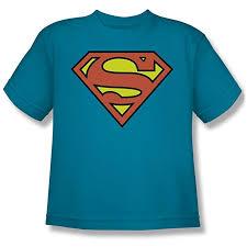 Dc Youth Size Chart Amazon Com Youth Dc Superman Logo Kids T Shirt Size Yl