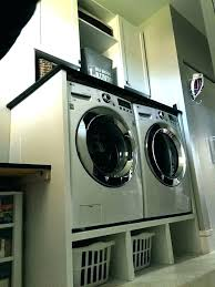 washer pedestal dryer plans with drawers stand diy laundry washing machine build front load drawer