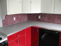 Red Kitchen Design Red And White Kitchen Cabinets Cliff Kitchen