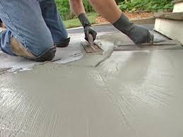 Build A Concrete Patio How To Patch And Resurface Concrete Steps How Tos Diy