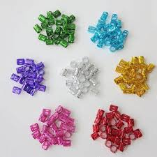 Online Shop <b>100Pcs</b>/<b>lot</b> Mixed Color Hair Braid Bead Micro Rings ...