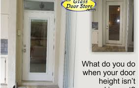 how to replace a non standard height back door