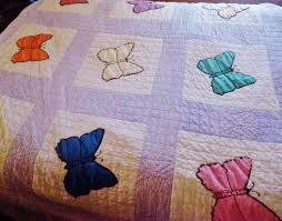 Using Vintage Hankies for a Butterfly Quilt - Vintage Crafts and More & Vintage Crafts and More - Butterfly Quilt Photo Adamdwight.com
