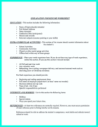 What Hobbies Should Be Included In Resume Resume For Study