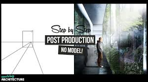 Architecture Design Photoshop How To Architectural Visualization Photoshop Tutorial