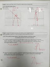 class notes from solving non linear systems