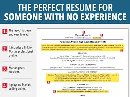 How To Make A Resume With No Job Experience Awesome How To Make A Resume With No Job Experience Musmusme