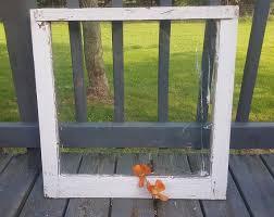 Vintage Old Wood Window Frame Single Pane One Farmhouse