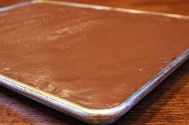 vanilla texas sheet cake leahs texas chocolate sheet cake dallas duo bakes