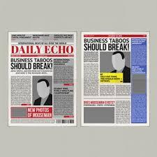 Newspaper Vector Free Download Blackboard Newspaper